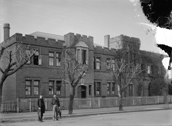 The Cloisters on St George's Terrace in 1900
