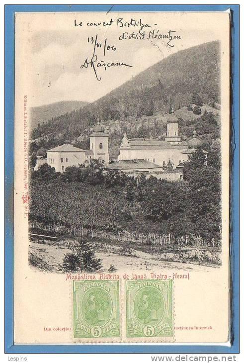 Piatra Neamt - Manastirea Bistrita - 1906