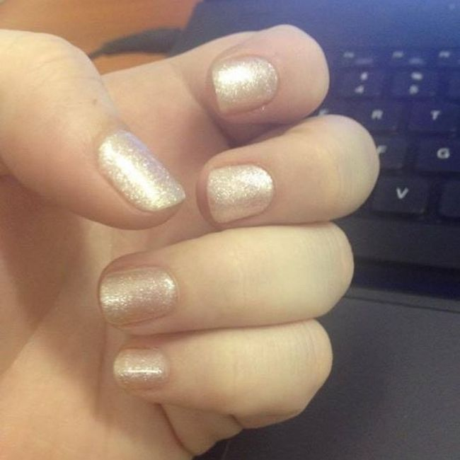 Storm-Ashleigh Ford says - 'Thanks a million for the amazing champagne gelish!'