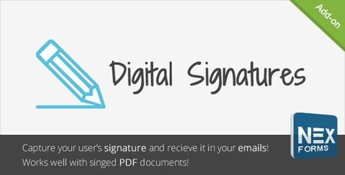CodeCanyon  Digital Signatures for NEX-Forms v1.0 Free Download http://ift.tt/2DYaidO
