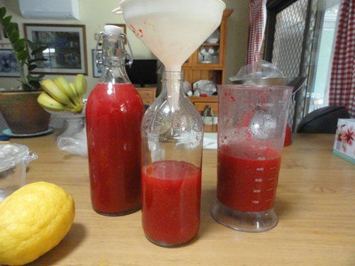 Down to Earth: Natural raspberry cordial from scratch