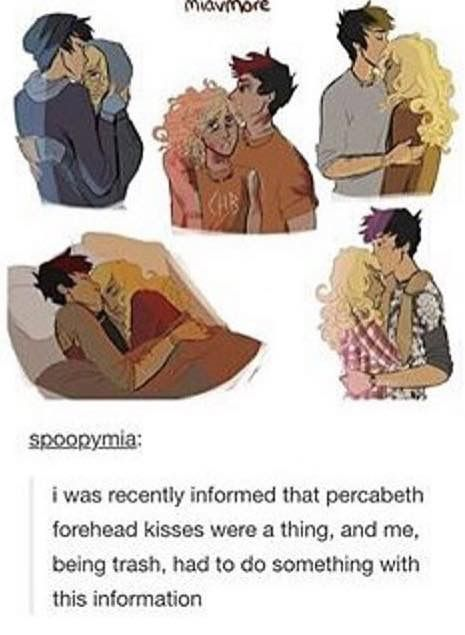 I will own the fact that I am complete Percabeth trash *whispers* even more than Solangelo