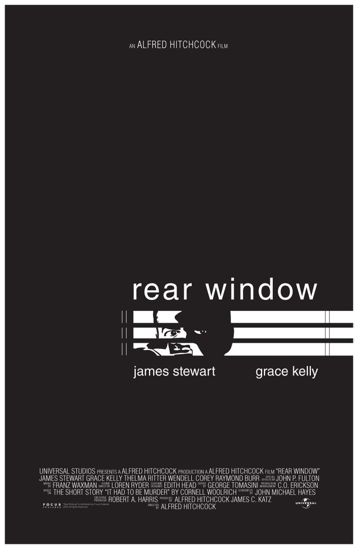 a review of rear window a film by alfred hitchcock Film review: 'anything' hitchcock confines all of the action to this single setting a tight suspense show is offered in rear window, one of alfred hitchcock's.