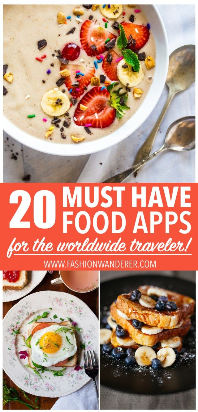 20+ MUST HAVE FOOD APPS FOR THE WORLDWIDE TRAVELER - Fashion Wanderer