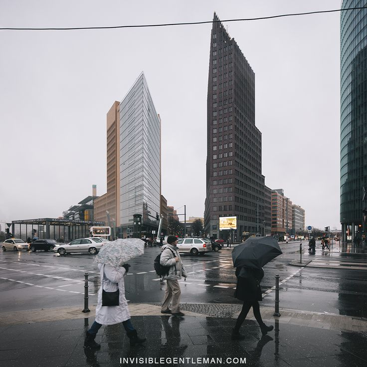 POTSDAMER PLATZ | Berlin, Germany © INVISIBLEGENTLEMAN 2016