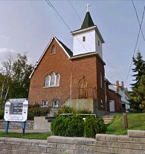 St. John's United Church, Sudbury, Ontario