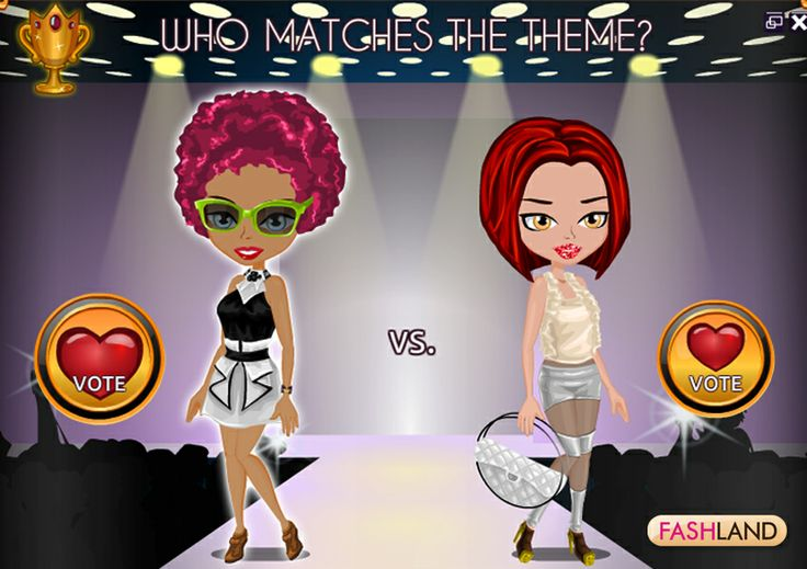 Who wears designer clothes the best? Vote to choose the winner! #fashcup #fashland #game #gaming #online #fashion #show #designer #moda #event