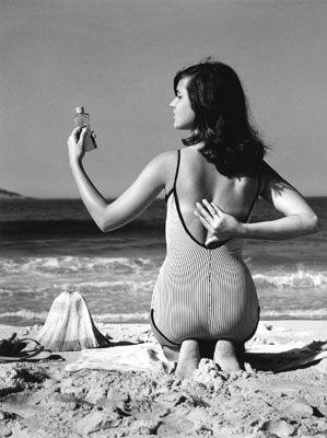 Garota de Ipanema (Helô Pinheiro), Rio de Janeiro, 1960. Foto: © Milan Alram