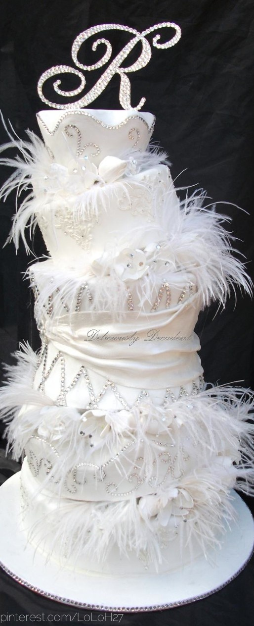 ostrich feather wedding cake top 25 best fancy wedding cakes ideas on 18072
