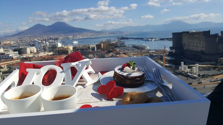 Love breakfast for Valentine's day by our chef Pasquale De Simone