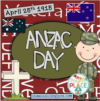 Contents++31+pagesBackground+notes+about+ANZAC+DaySuggested+books+to+read++5+booksRelated+product+for+Year+3/4+ANZAC+Day+Year+3/4Word+Work-+How+many+words+can+you+make?-+Venn+Diagram+on+flags+Work+on+Writing-+My+thoughts+about+ANZAC+Day-+Recount+ANZAC+Day+March-+A+wreath-+SymbolsReading-+Only+a+Donkey++list+animals-+My+Grandad+Marches+on+ANZAC+DAY++character+map,+story+board+and+beginning/middle/ending-+Small+share+bookCraft+-+Make+a+flag