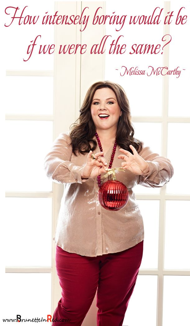 Some fantastic |quotes by |Melissa McCarthy. (photo Melissa McCarthy (Brian Bowen Smith/Good Housekeeping))