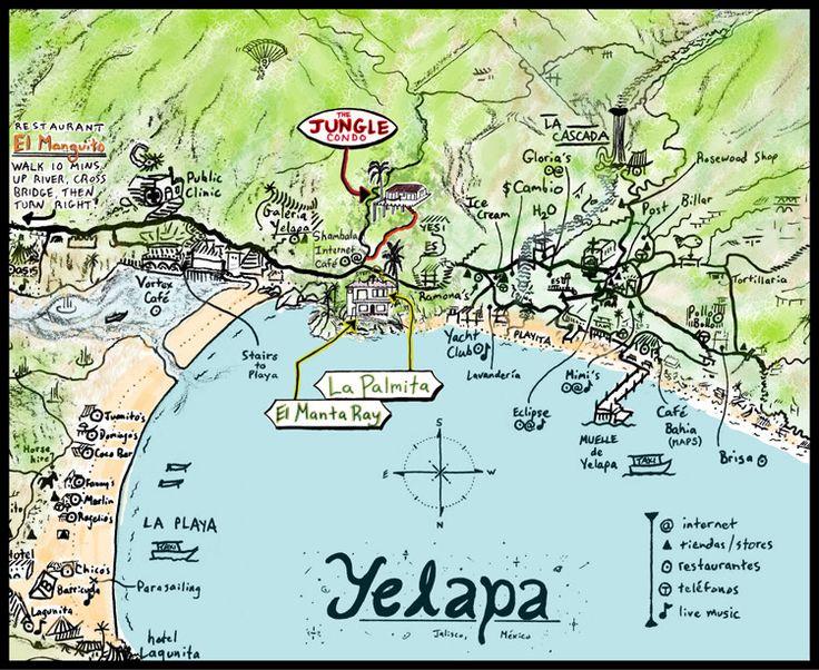 Yelapa, Mexico ~ beautiful & remote