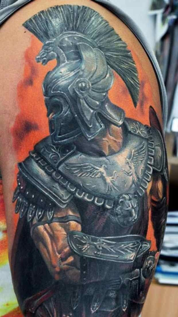 Roman Nails Drawingtattoo: Roman Solider Tattoo