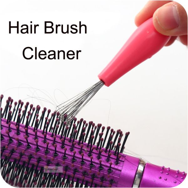 1pc durable Hair Brush Cleaner easy clean hair dirt paw tangle Airbag roller comb styling tools home salon