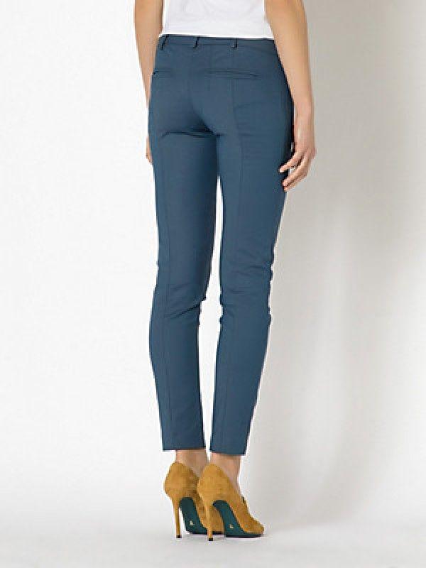 Patrizia Pepe pantalone slim in tessuto bielastico couture #ioveshopping