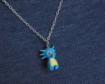 Vintage Horsee Pokemon Necklace
