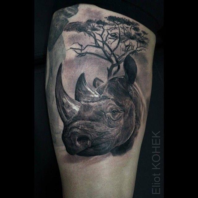 Best 25 rhino tattoo ideas on pinterest charging bull for Classified tattoo supply