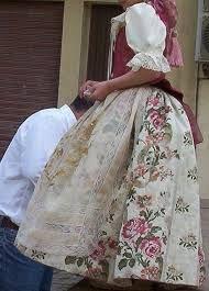 Resultado de imagen de trajes huertana valenciana