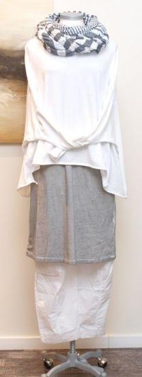 stilecht - mode für frauen mit format... - rundholz black label - Hose Cotton white - Sommer 2013