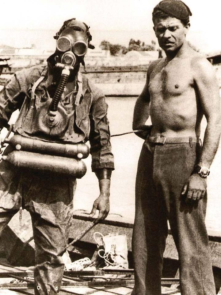 """GAMMA"" group of X ª Flotilla MAS.....The Decima Flottiglia MAS (Decima Flottiglia Mezzi d'Assalto, also known as La Decima or Xª MAS) (Italian for ""10th Assault Vehicle Flotilla"") was an Italian commando frogman unit of the Regia Marina (Italian Royal Navy) created during the Fascist regime."