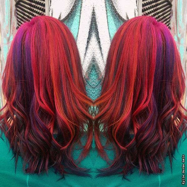 20 Hot Hair Color Styles The Latest Hair Dye Choice From Hairstylists Bright Red Hair