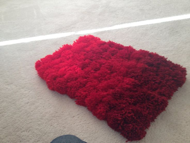 Image result for pom pom rug