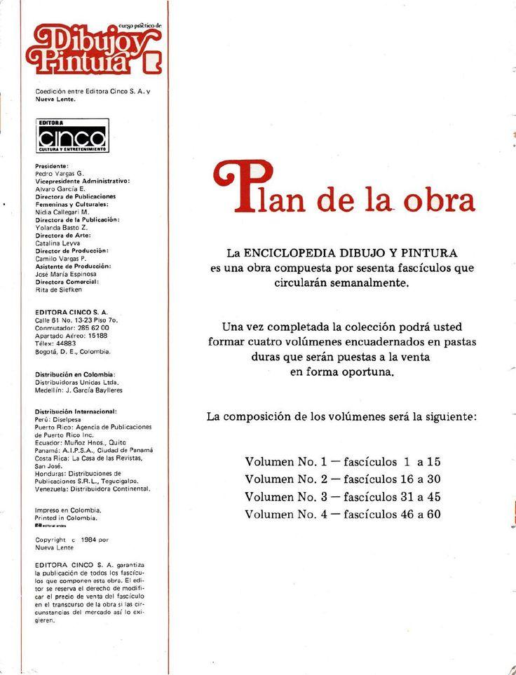 Coleccin En Fascculos Sobre Dibujo Y Pintura De Editorial Lente Editora Cinco Colombia