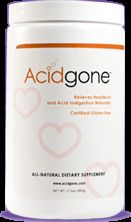 Acidgone | Freedom From Heartburn | All natural treatment for gastroesophageal reflux disease, gerd, acid reflux