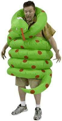 Inflatable Wrap Around Snake Adult  sc 1 st  Pinterest & 11 best snake images on Pinterest | Snake costume Snakes and ...