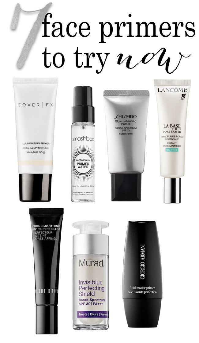 Great new face primers to help your #makeup look perfect!