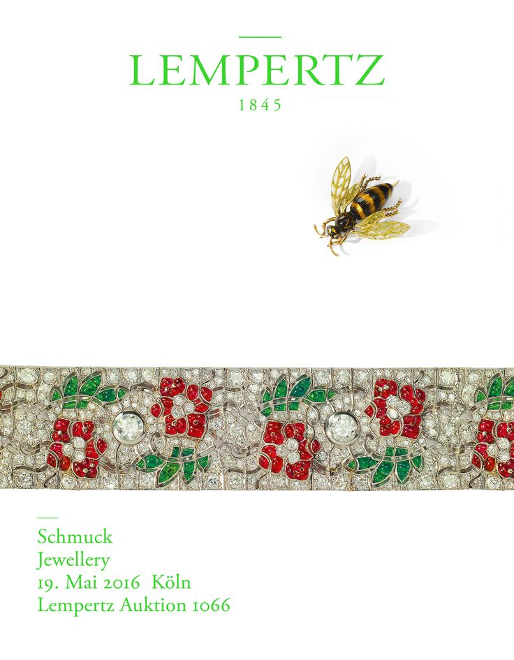 Our jewelry catalog ss2016 is out! #jewelry #lempertz #ss2016 #catalog