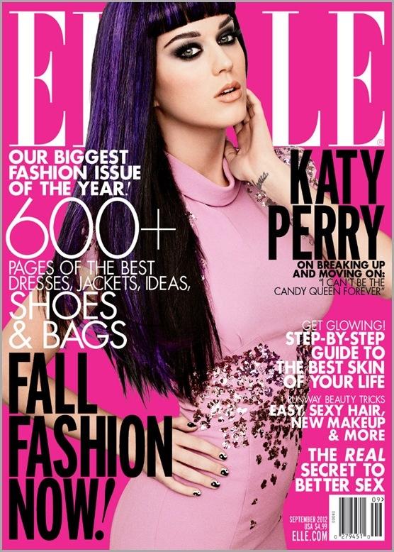 Кэти Перри для журнала Elle 09/2012
