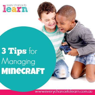 How to prevent children becoming addicted to Minecraft?