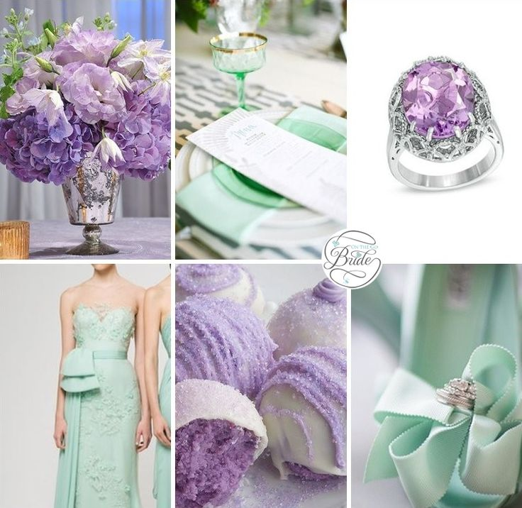Lavender and Mint Wedding Inspiration