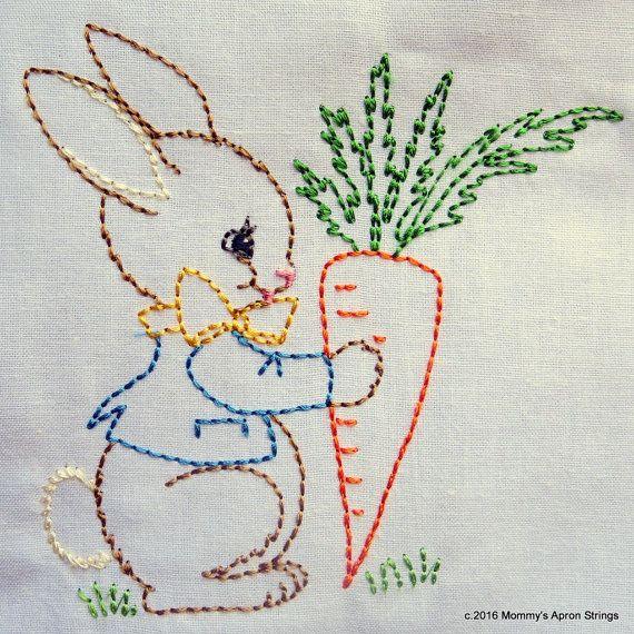 Bunny Machine Embroidery Designs
