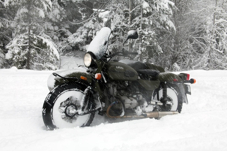 Once I get a Ural sidehack, there will be no excuses for me not to freeze. The longer we spend our lives without adventure and struggle, the more boring we become. Cars are prisons that isolate us from the reality of traveling.