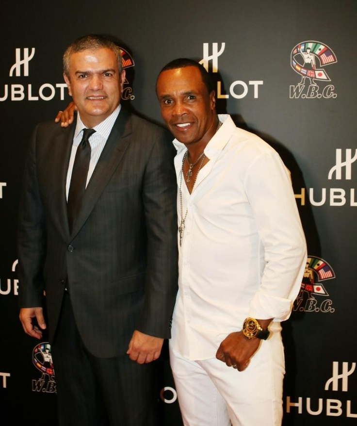 #Boxing legend Sugar Ray Leonard at the Inauguration of the #Hublot World #Boxing Council Pension Fund in Las Vegas