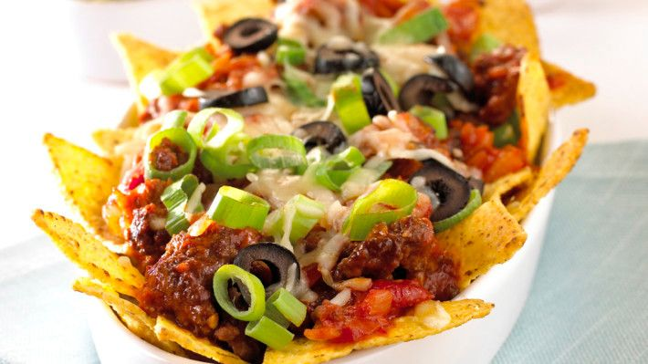 Ferdiglaget nachos