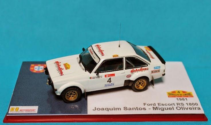 BN Motorsport - 1/43: Ford Escort RS 1800 - J. Santos / M. Oliveira (1985)