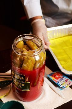 Today I learned how to make Kool-Aid pickles from Clarksdale PD's Detective Charles Sledge. Sledge runs a concession stand out of a converted camper he sets up during Blues Season. When he's not investigating crimes, he sells Delta delicacies like rotel fries, chili-burgers, and Koolickles […]