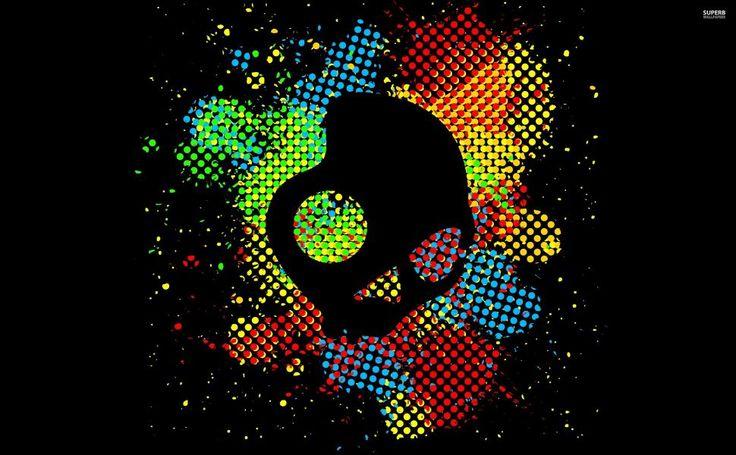 Skullcandy logo HD Wallpaper