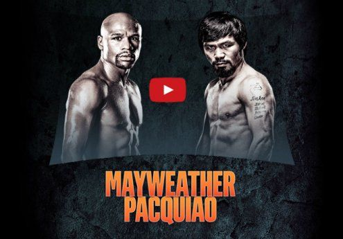 Mayweather vs Pacquiao Live Streaming PPV