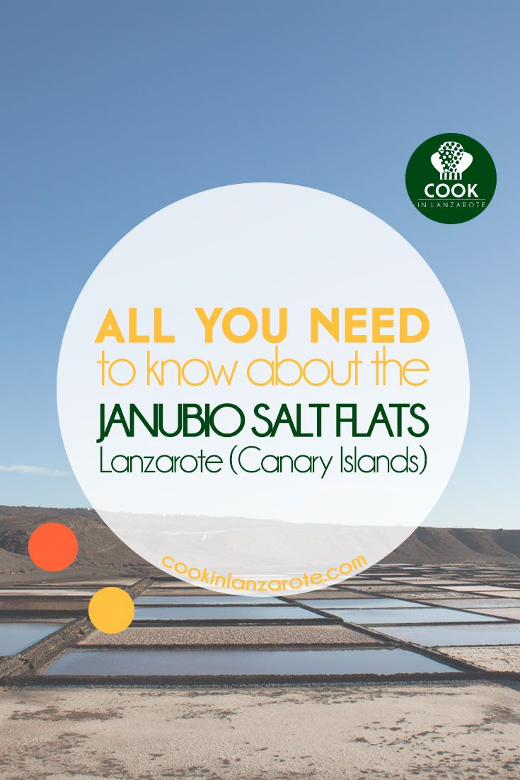 "Janubio salt flats are the biggest salt flats still producing in the Canary Islands. Breathtaking views, amazing ""Fleur de Sel"" via @cookinlanzarote"