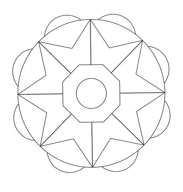 Coloring Pages For Quilt Blocks : 100 best mandalas images on pinterest