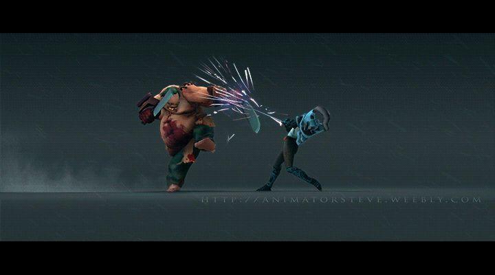 ArtStation - Fight VII, Stephen Vyas
