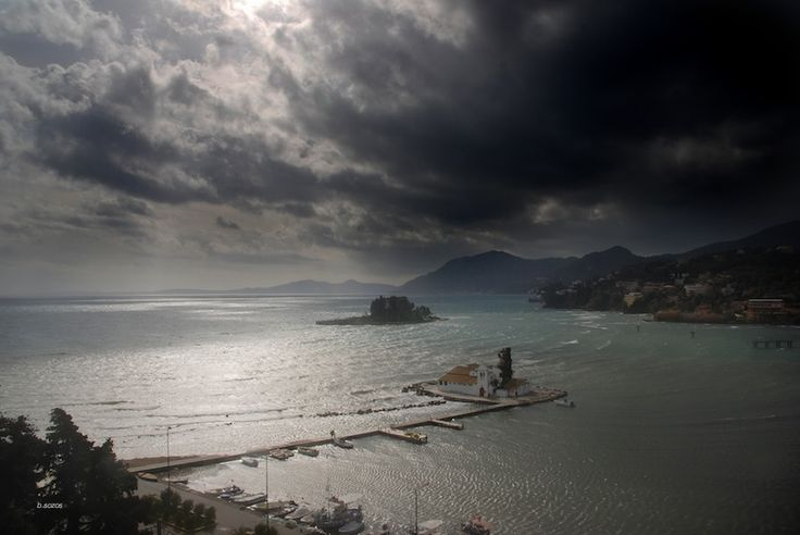 The mouse island - Corfu, Greece