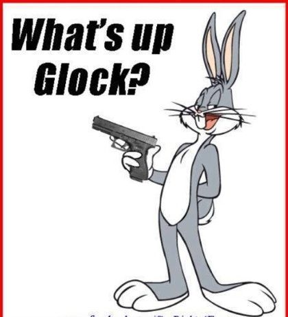 Glock Find our speedloader now! http://www.amazon.com/shops/raeind  Even Bugs Bunny  Don,t  Play  ♌