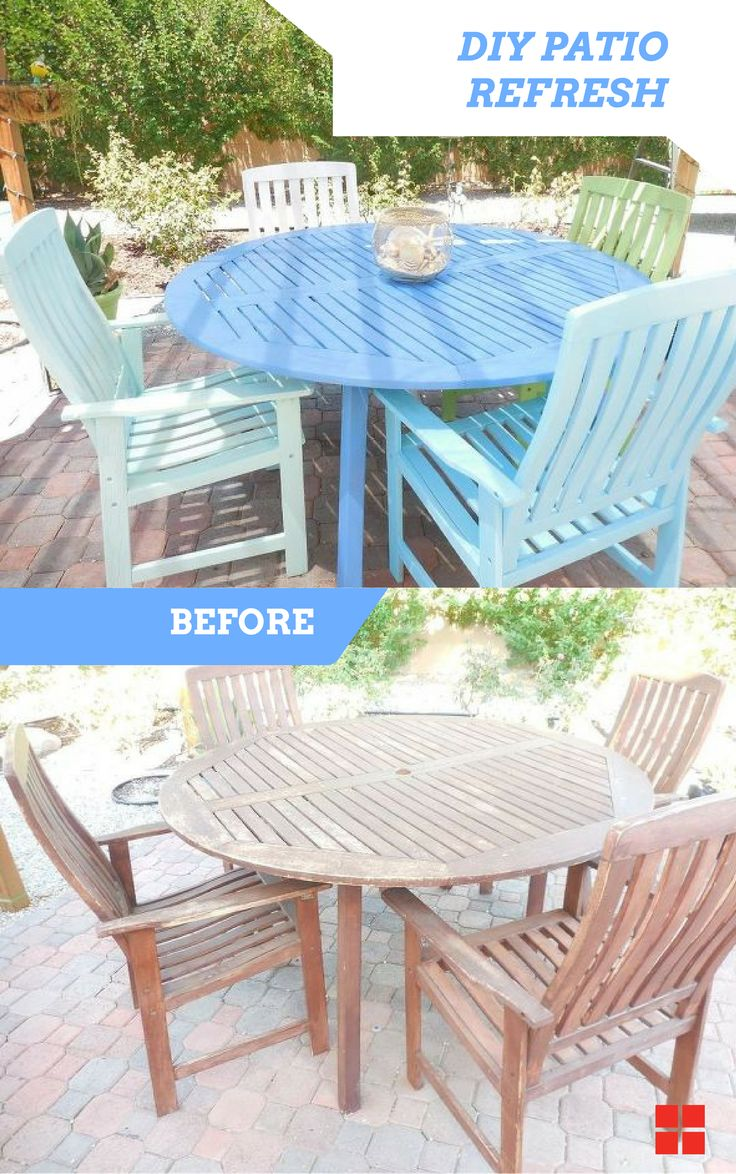 Best Outdoor Projects Images On Pinterest Outdoor Projects - Turquoise outdoor furniture