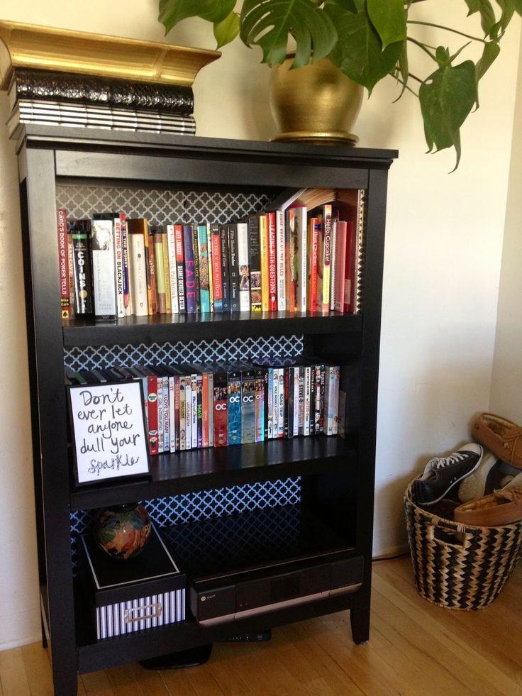 DIY Bookshelf Makeover     DaVin.She
